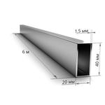 Труба профильная 40×20×1,5