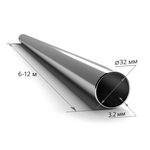 Труба ВГП оцинкованная 32×3,2